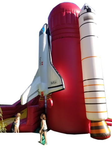 25' x 25' x 34'   Space Ship Slide