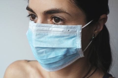 50 Triple Layer Surgical Masks ~ According to the CDC, these masks filter out 95% of airborne particles, including viruses and bacteria.