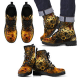 Goth Topics Men's Steampunk OctoSteam Leather Boots