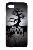 Goth Topics Dare To Be Different iPhone Protective Case