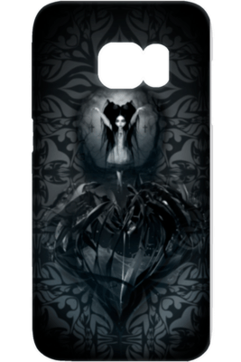 Goth Topics Triple Cross Samsung Phone Protective Case