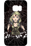 Goth Topics Stay Weird Samsung Phone Protective Case