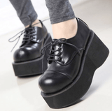 Women Booties Demonia Style Gothic Ankle Platform Boots