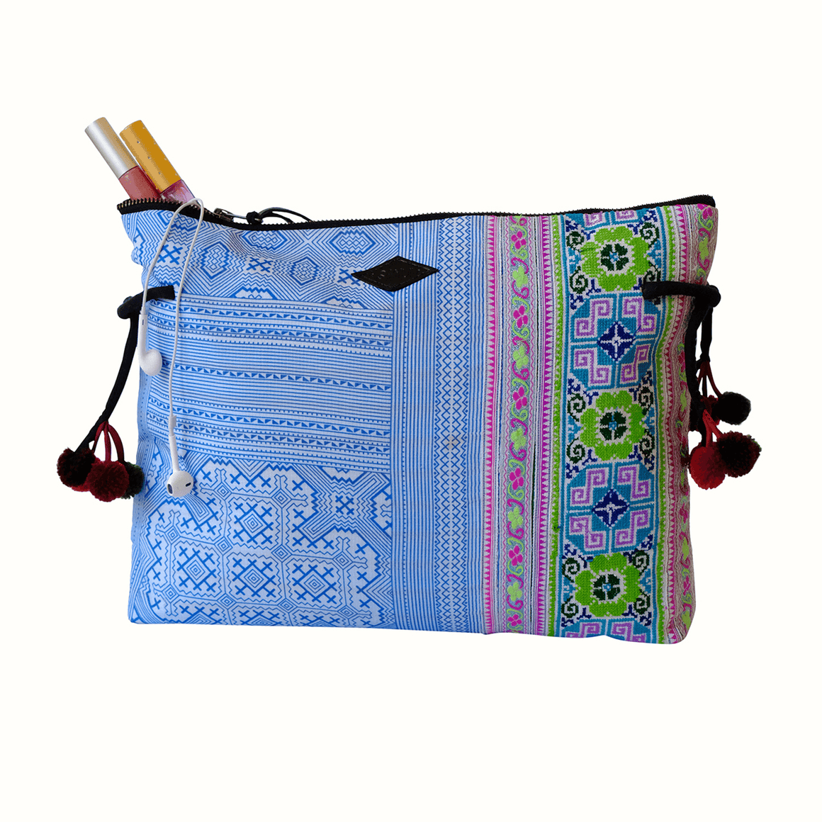 Samui Bags Ocean Breeze Clutch Handmade Bag Thailand