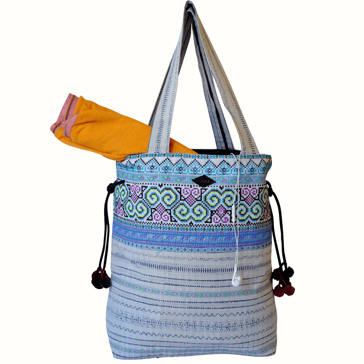 Samui Bags Sea Mist Weekender Bag Handmade Thai Bag