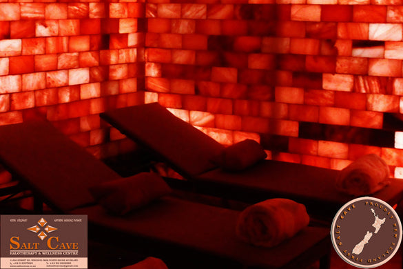 Salt Cave Halotherapy- One/Single ($29) or Two/ Couple ($57) Sessions ($120 Value)