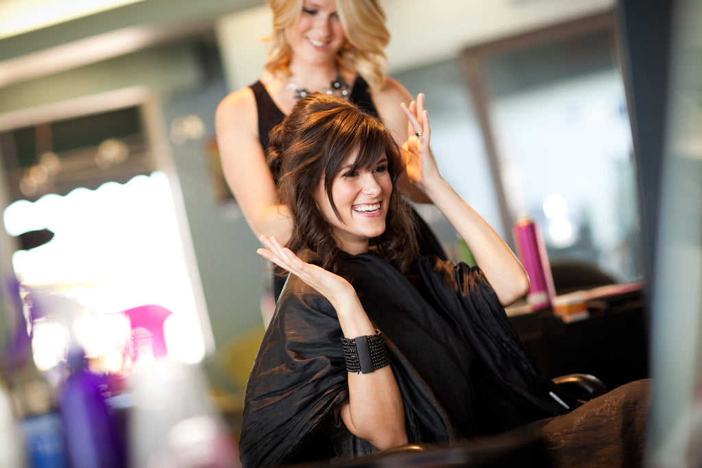 Half Head Highlight, Hair conditioning, Hair cut with Eyebrow threading at Just $89 ( value $185)