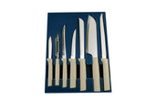 7-piece Home Chef Cutlery Set in Sand