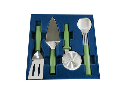 4-piece Serving Set in Greenery