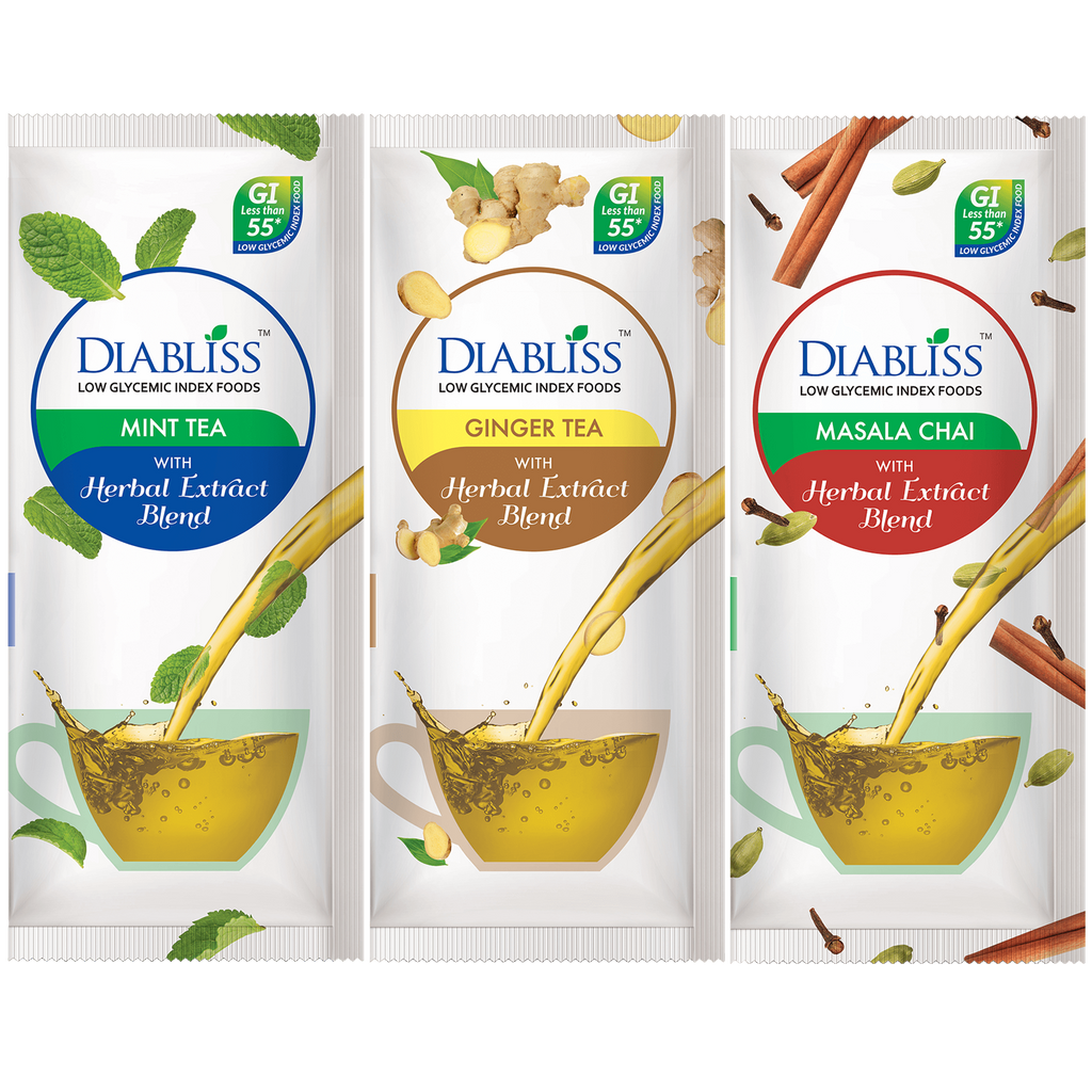Diabliss Spice Black Tea Variety Pack Flavors