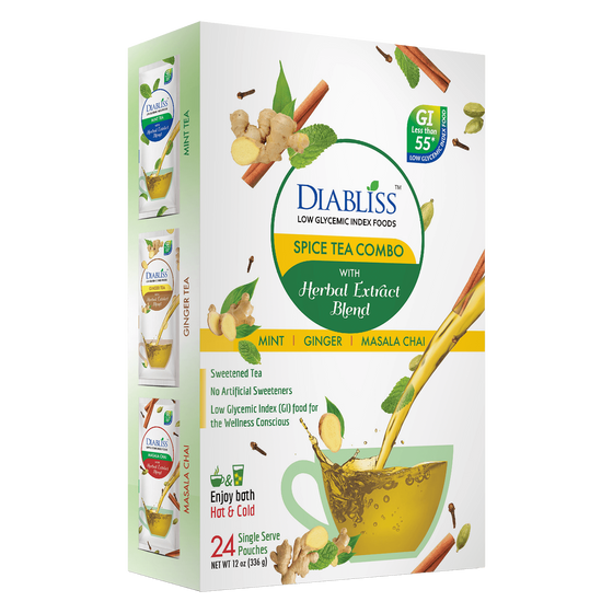 Diabliss Instant Spice Tea Variety Pack