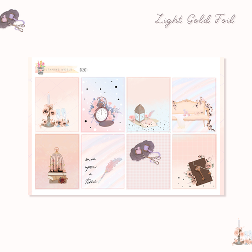Weekly Full Kit with Light Gold Foil//B145