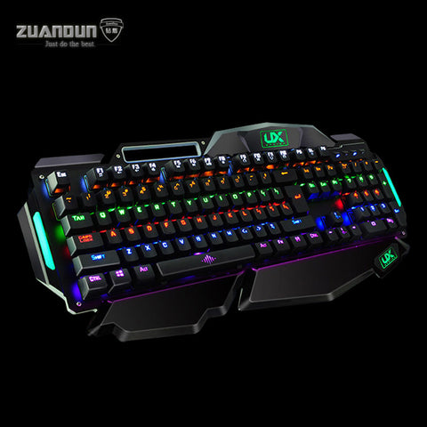 104 Key Blue Axis LED Professional Gaming Keyboard