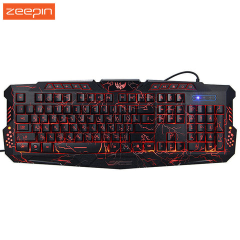 New Russian English Pro Gaming Keyboard