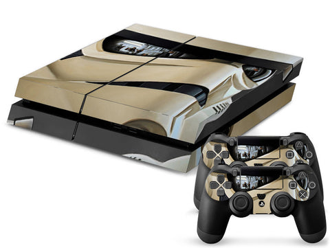 Classical Stormtrooper Protective Vinly Decal Wrap +2Pcs Controller Skin