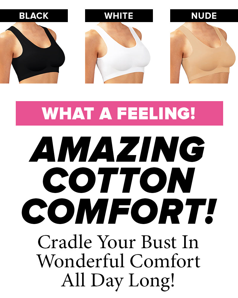 Cotton-Comfort Support Bra Collection