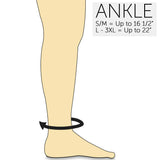 Zipper Compression Socks - Nude