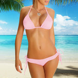 Perfect-Fit 2-Piece Bikini Set - Pink