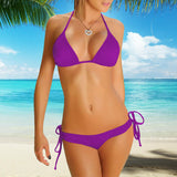 Perfect-Fit 2-Piece Bikini Set - Purple