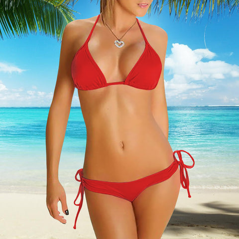 Perfect-Fit Bikini - Red