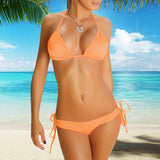 Perfect-Fit 2-Piece Bikini Set - Tangerine