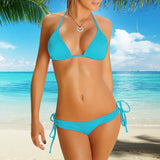Perfect-Fit 2-Piece Bikini Set - Turquoise