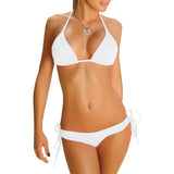 Perfect-Fit 2-Piece Bikini Set - White