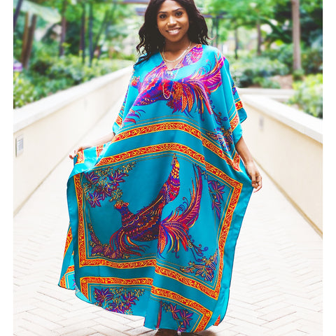 Caftan Flying Peacock