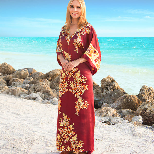 Caftan Golden Vine
