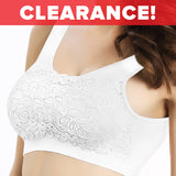 Cami-Lace Lift Bra - White