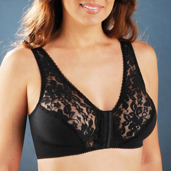 Cotton-Breeze Lace Bra