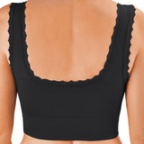 Criss-Cross Lift Bra - Black