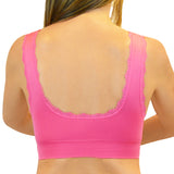 Criss-Cross Lift Bra - Fuchsia