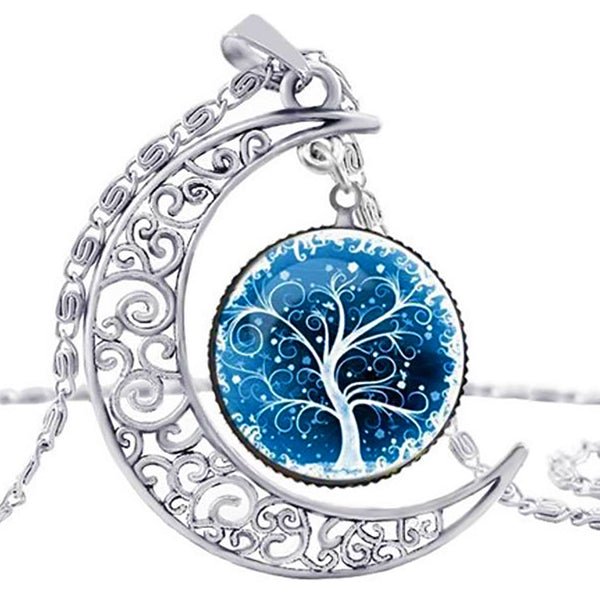 Earth Serenity Necklace, Sky