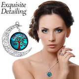 Earth Serenity Necklace - Aqua