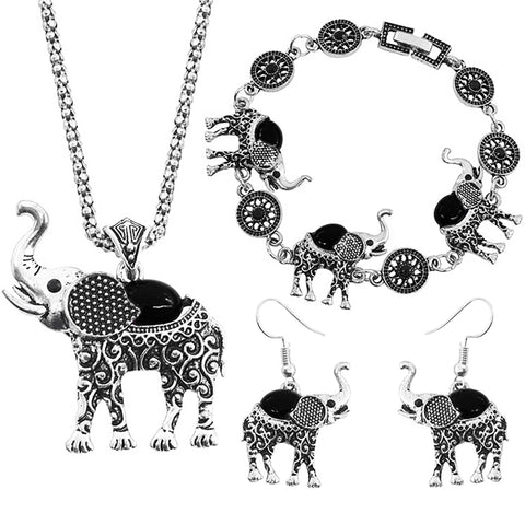 Elephant Grace Jewelry Set - Secrets