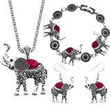 Elephant Grace Jewelry Set - Passion