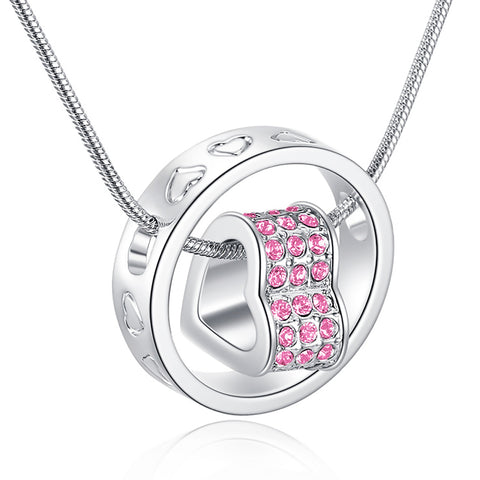 Eternal Love Necklace - Rose Pink