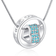Eternal Love Necklace - Turquoise