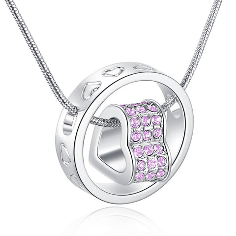Eternal Love Necklace - Violet