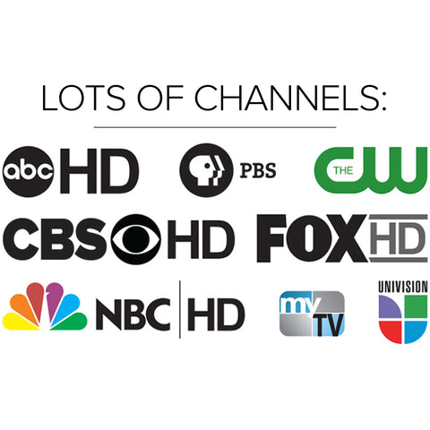 Free tv channels in my area