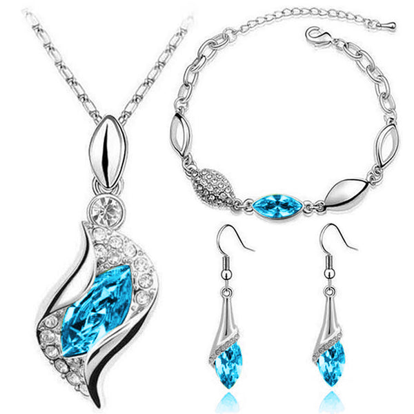Eternal Memories Jewelry Set, Blue Ocean