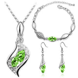 Eternal Memories Jewelry Set - Spring Green