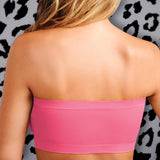 Strapless Comfort Bra - Hot Pink