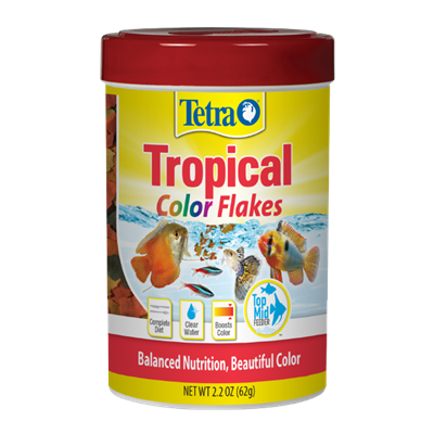 Tetra - TetraColor Tropical Fish Flakes
