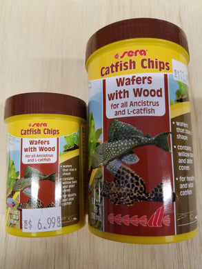 Sera - Catfish Chips (Wafers with Wood)