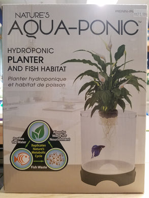 Penn-Plax - Nature's Aquaponic 1.4 Gallon Tank