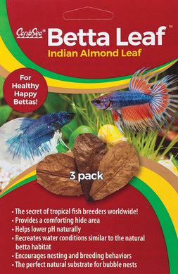 CaribSea - Indian Almond Leaf 3 Pack