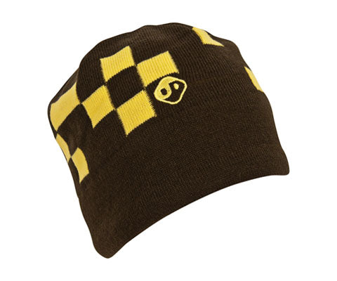 Checkmate Beanie - Yellow - The Frontier - Adventure at its core