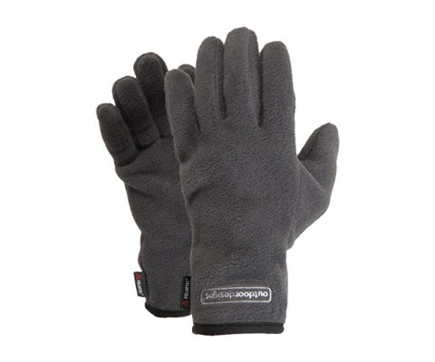 Fuji Polartec Glove Charcoal - The Frontier - Adventure at its core